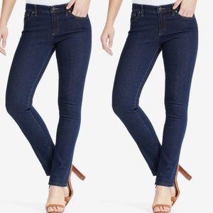 Ralph Lauren stretch modern straight curvy jeans